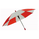 Flash Parasols (Red & White) 1 piece set by MH Production - Trick