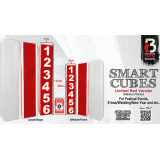 Smart Cubes Red (Medium / Parlor) by Taiwan Ben - Trick
