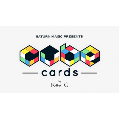 Saturn Magic Presents Cube Cards by Kev G - Trick