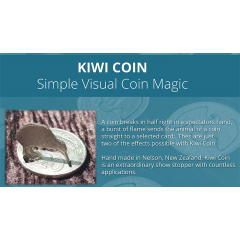 Kiwi Coin (New Zeland) by Steve Wilbury - Trick