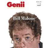 "Genii Magazine ""Bill Malone"" July 2017 - Book"