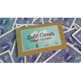 Split Cards 15 ct. (Blue) by PCTC - Trick