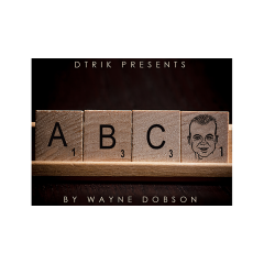ABC (Gimmicks and Online Instructions) by Wayne Dobson - Trick