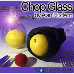 Chop Glass (Gimmicks and Online Instructions) by Alan Hudson and World Magic Shop - Trick