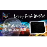 The Larry Peek Wallet (Gimmick and Online Instructions) by Mago Larry - Trick