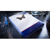 Butterfly Playing Cards Marked (Blue) 2nd Edition by Ondrej Psenicka