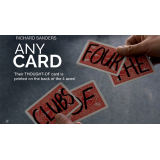 Any Card (Gimmick and Online Instructions) by Richard Sanders - Trick