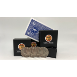 Autho 4 Half Dollar (D0178) (Gimmicks and Online Instructions) by Tango - Trick