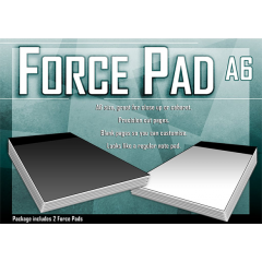 Force Pad (Medium/White) Set of Two by Warped Magic - Trick