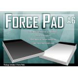Force Pad (Medium/Black) Set of Two by Warped Magic - Trick