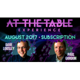 At The Table August 2017 Subscription video DOWNLOAD