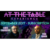 At The Table September 2017 Subscription video DOWNLOAD