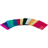 Silks 15 inch 12 Pack (Assorted) Magic by Gosh - Trick