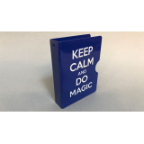 Keep Calm and Do Magic Card Guard (Blue) by Bazar de Magia