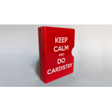 Keep Calm and Do Cardistry Card Guard (Red) by Bazar de Magia
