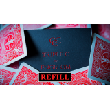 Refill for Triple C (Blue) by Christian Engblom - Trick