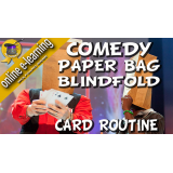 Comedy Paper Bag Blindfold Routine by Wolfgang Riebe video DOWNLOAD