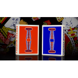 Chicken Nugget Playing Cards - Blue