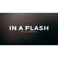 In a Flash (Red) DVD and Gimmicks by Felix Bodden - Trick