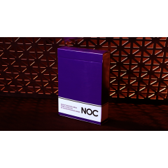 NOC Original Deck (Purple) Printed at USPCC by The Blue Crown