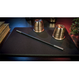 Deluxe Close-Up Pad 11X16 (Black) by Murphy's Magic Supplies - Trick