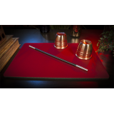 Deluxe Close-Up Pad 11X16 (Red) by Murphy's Magic Supplies - Trick
