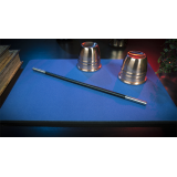 Deluxe Close-Up Pad 11X16 (Blue) by Murphy's Magic Supplies - Trick
