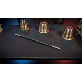 Deluxe Close-Up Pad 16X23 (Black) by Murphy's Magic Supplies - Trick