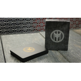 FIBER BOARDS Cardistry Trainers (Black Onyx) by Magic Encarta - Trick