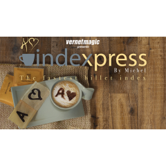 Indexpress (Gimmick and Online Instructions) by Vernet Magic - Trick