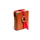 Double Leather Card Case (Includes 2 Decks of Playing Cards)