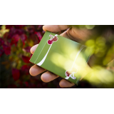 Cherry Casino (Sahara Green) Playing Cards by Pure Imagination Projects