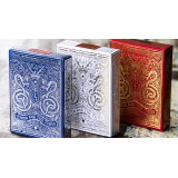 White Gold Edition Playing Cards by Joker and the Thief