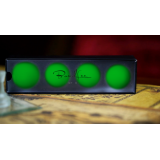 "Perfect Manipulation Balls (2"" Green) by Bond Lee - Trick"