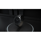 Infinity Watch V3 - Silver Case Black Dial / STD Version (Gimmick and Online Instructions) by Bluether Magic - Trick