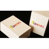Limited Edition Set of 6 Flavors Playing Cards in Custom Box