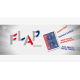 Modern Flap Card PHOENIX (Red to Blue) by Hondo