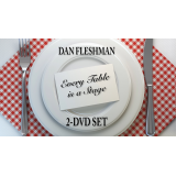 Every Table is a Stage (2-DVD Set) by Dan Fleshman - DVD