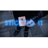 Stick To It Blue (DVD and Gimmick) by Shahrul Nizar - Trick