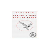 Magnetic Scotch and Soda English Penny by Eagle Coins - Trick
