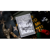 Peter Dash Flash - P51 Mustang Playing Cards by Kings Wild Project Inc.