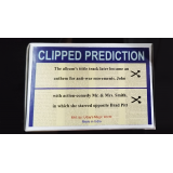 CLIPPED PREDICTION (Lennon/Brad Pit) by Uday - Trick