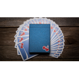 Cherry Casino House Deck Playing Cards (Tahoe Blue) by Pure Imagination Projects