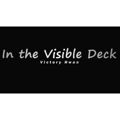 In the Visible Deck BLUE (Gimmicks and Online Instruction by Victory Hwan- Trick