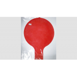 Entering Balloon RED (160cm - 80inches)  by JL Magic - Trick