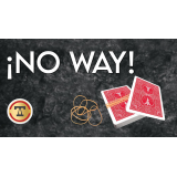 No Way! (Gimmicks and Online Instructions) by Marcel and Tango Magic - Trick