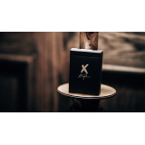 X Deck (Black) Playing Cards by Alex Pandrea