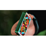2021 Summer Collection: Jungle Gilded  Playing Cards by CardCutz