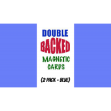 Magnetic Cards (2 pack/Blue) by Chazpro Magic. - Trick