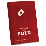 Above the Fold by Rich Aviles and Vanishing Inc. Magic - Book